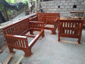 Sofa Rangka kayu