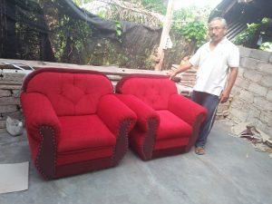 Buat Sofa Baru lebar 50 cm