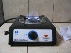kompor Gas dari Biogas