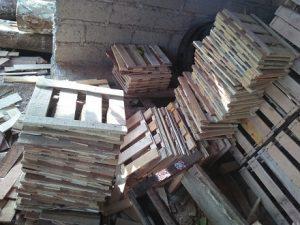 Stock Material Peti Kotak Buah