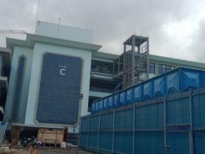 Pembangunan Gedung COVID-19 RSUD KAPAL -BADUNG BALI (1)